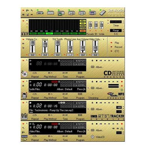 دانلود جت آدیو قدیمی  Jet Audio 4.92